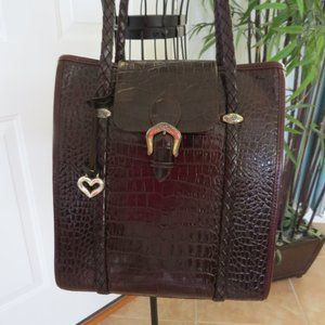 Vintage Brighton Leather Bag with Box & Dust Bag
